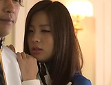 Japanese AV Model is a Race queen gets hard fucked in rough modes picture 6