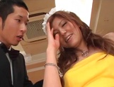 Busty Asian maid fucked until exhaustion in cosplay scenes