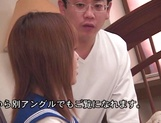 Cock sucking schoolgirl Moe Shinohara gets fucked until exhaustion picture 14