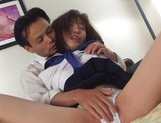 Serious hardcore adventure with Asian teen Yui Saotome picture 12