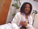 Asian schoolgirl, Maki Ishizaka, blows cock and gets fucked on cam picture 8