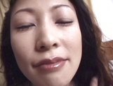 Naughty mature Asian doll, Marie Sugimoto in hardcore pov show picture 15