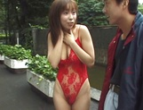 Outdoor sensations for busty Japanese beauty, Minami Aikawa