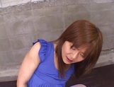 Steaming Asian girl Tomomi Takahara fucked by a group of guys picture 11