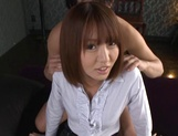 Narumi Ayase Asian milf fucked hard in wild gang picture 2