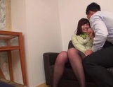 Seino Iroha and two other stewardesses enjoy hot sex