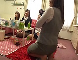 Sexy milfs decide to have a spicy group session