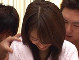 Smashing gangbang fuck for Asian  babe Mihoro