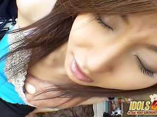 Hikaru Yuzuki Horny Hottie Humps Asian babe Has An Itchy Pussy