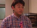 Petite Japanese teen, Mari Yamada, enjoys rough sex on cam