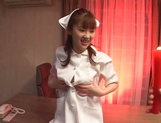 Horny teen nurse Mari Yamada has sex with her horny doctor enjoy hot wax