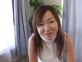 Arousing Japanese amateur in hot masturbation show