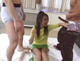 Horny Japanese chick, Mami Miyamoto, gets fucked with cocks and dildos