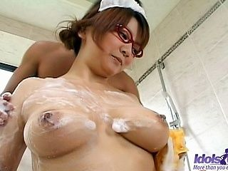 Meguru Kosaka Gets Fucked In The Shower