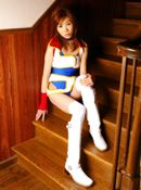 Imokawa College Cheerleader Gets Tied Up For Some Fun