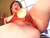Japanaese Babe Kokori Enjoys Vacuum Pussy Pump picture 13