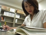 Japanese AV Lesbians Licking Each Other??s Hot Pussies picture 12