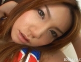 Japanese AV Model Gets Her Face Covered In Cum picture 9