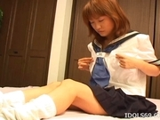 Japanese AV Model Is A Horny Gal Who Enjoys Pleasuring Herself