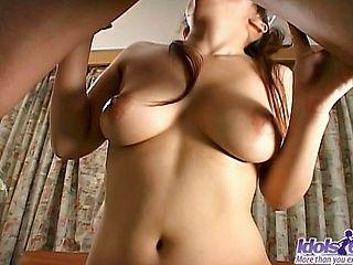 Meguru Kosaka Has A Nice Set Of Tits And Loves To Fuck