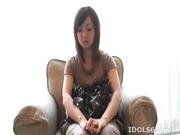 Japanese Nazuki Sakura Dildo Fucks Cunt