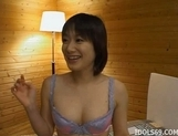 Japanese Ruri Annno Hairy Cunt Fucked Nice Han Hard By Her Stud picture 12