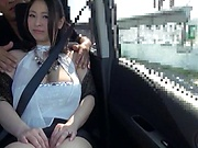 Busty babe enjoys a kinky solo action