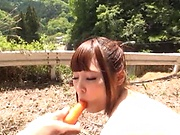 Nishikawa Rion gets an amazing double penetration