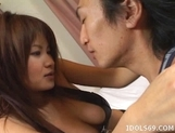 Juri Matsuzaka Breasty Av Idol Asian Tramp Loves To Show Her Big Tits And Fuck