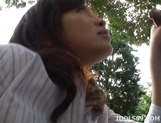 Kana Shimada Outdoor Blowjob Japanese Thrmp Likes It Outdoors picture 7