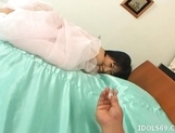 Kanna Mio Rides Hard Cock Like An Asian Professional picture 1