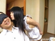 Konomi Sakura Hide The Weiner Japanese Enjoys Playing With Sausage