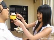 Konomi Sakura Hide The Weiner Japanese Enjoys Playing With Sausage