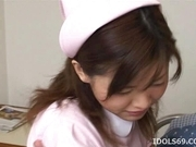 Mai Yamazaki Naughty Asian Nurse Gets A Load Of Cum On Her Face