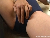 Mai Yayoi Two On One Japanese babe Fills Her Pussy With Cocks