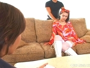 Maria Ozawa Horny Asian Teen Is Fucked By Two Guys