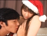 Mayumi Sendoh Asian Model In Santa Costume Fets Her Brains Fucked Out