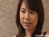 Miho Uehara Footjob Handjob Asian babe Masturbates With Her Feet picture 2
