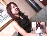 Miho Uehara Toying Asian Tramp Likes To Show Off Her Pussy
