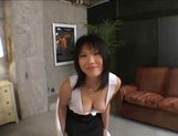 Top notch Asian milf with lovely body and nice ass in threesome sex picture 14