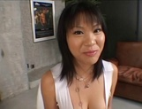 Top notch Asian milf with lovely body and nice ass in threesome sex