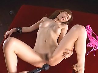 Curvy Japanese milf in pink lingerie Akari Asahina gets drilled and pounded