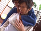 Gorgeous Asian sedcutress banged hard and creamed picture 14