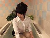Sakuragi Yukine gets her goodies caressed in bathtub