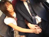 Kinky public action sex for lusty Riko Tachibana picture 14