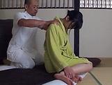 Sensual  Kasumi Okazaki fucked and tastes load picture 14