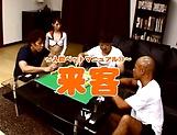 Fuyutsuki Kaede and dude in wild hardcore session