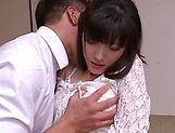 Sexy Kanako Iioka hard fucked and creamed with jizz