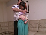 Sexy Kanako Iioka hard fucked and creamed with jizz