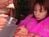 Karen Ichinose amazing Asian porn show in POV scenes